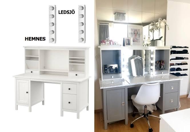 Bedroom Vanity Ikea Home Design Ideas, Desk And Vanity Ikea