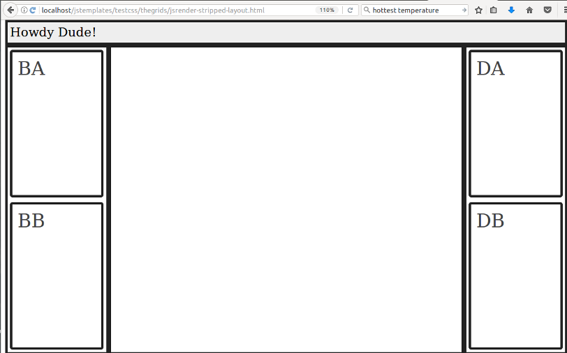 Raptorlicious: Using JSRender to render a CSS grid layout