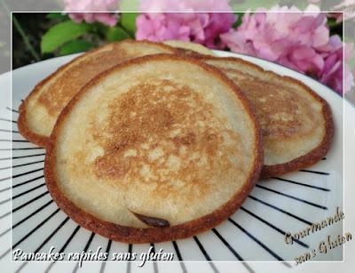 http://gourmandesansgluten.blogspot.fr/2016/08/pancakes-rapides-sans-gluten.html