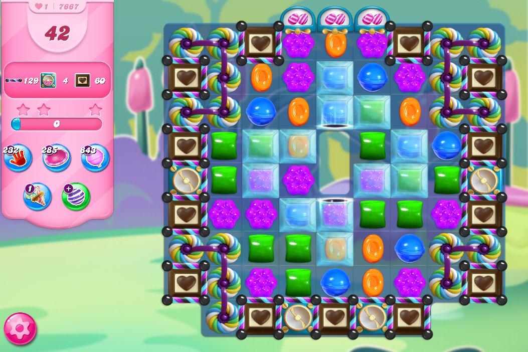 Candy Crush Saga level 7667