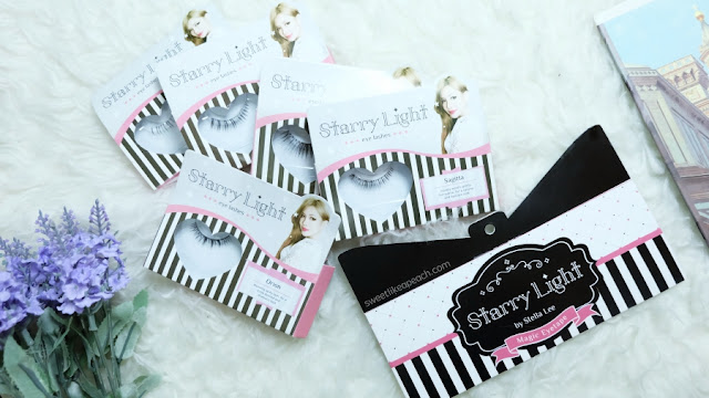 Starry Light Eye Lashes & Eye Tape Review