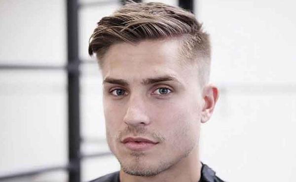 model rambut pria jambul