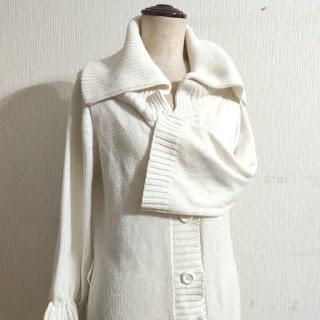 絞り縫い,裾のフリル,Draw stitch,frilling,荷叶边,针线活
