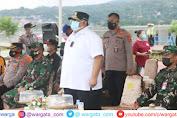 Pimpin Apel Gabungan, Gubernur Sultra Perintahkan Pantau 3 Zona Aktifitas Kegiatan Masyarakat