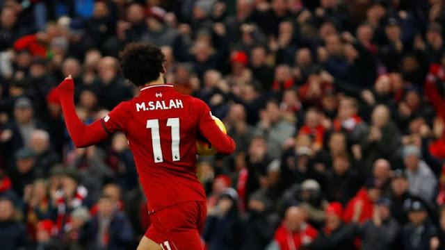 نتيجة مباراة ليفربول وكريستال بالاس وتصدر محمد صلاح هداف الدوري الإنجليزي