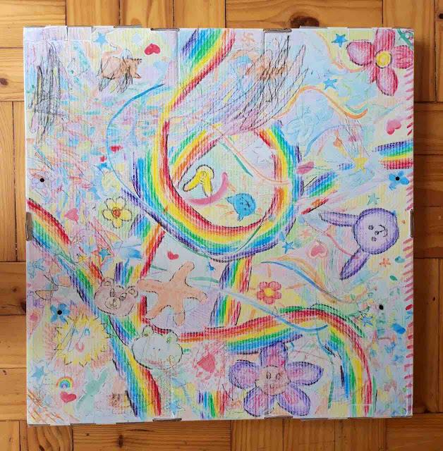 Lockdown Level 5 Family Rainbow Hope Doodle  - Zeitz Mocaa