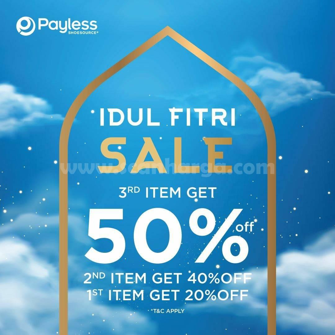 PAYLESS Promo Idul Fitri Sale – DISKON hingga 50%