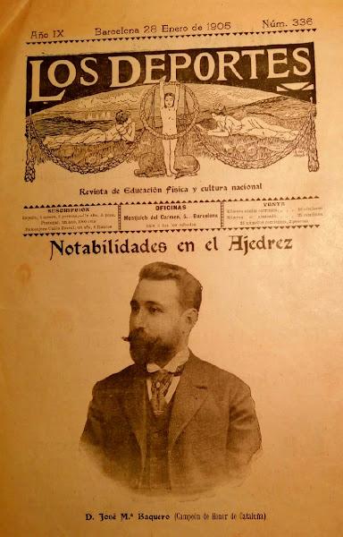Portada de Los Deportes, 28/1/1905
