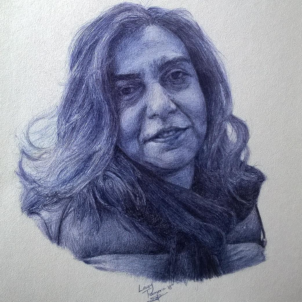 09-Dr-Theodora-Nikaki-Larry-Tamara-Ballpoint-Pen-Portraits-Progression-Drawings-www-designstack-co