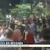 Moradores de Ibicoara registram aglomeração de pessoas no meio da rua, em plena pandemia