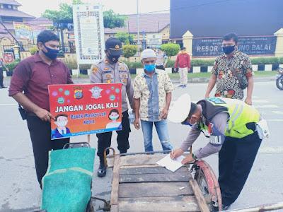Polres Tanjungbalai Bersama Pemko  Giatkan PPKM Mikro di 187 lingkungan
