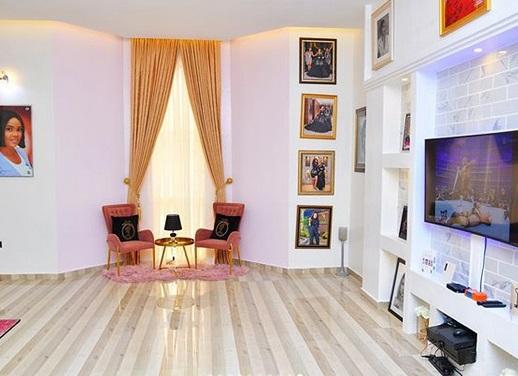 Checkout Cute Interior of Iyabo Ojo's New Home in Lekki {Photos}