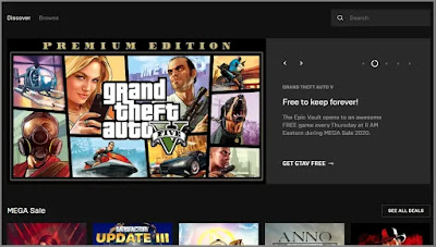 GTA 5 PC Download Free via Epic Games Store | Download GTA V Free on PC