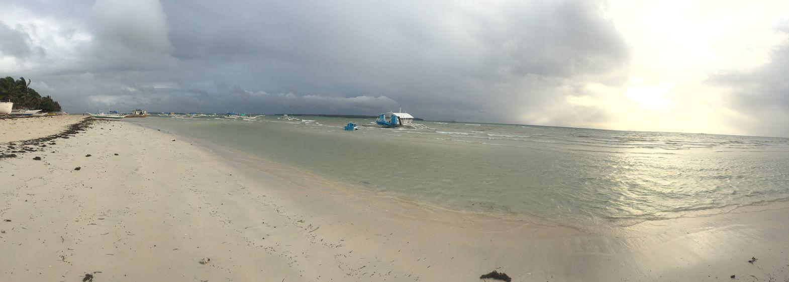 Sta. Fe beach in Bantayan Island