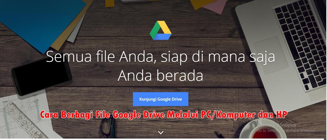 Lihat Cara Mengirim Foto Dengan Google Drive paling mudah