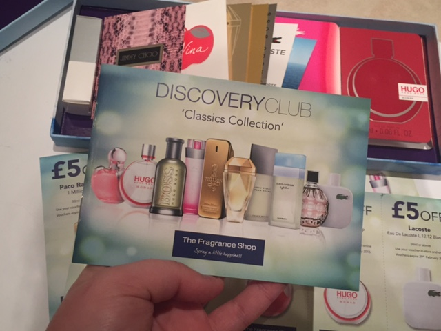 Discovery club from the fragrance shop