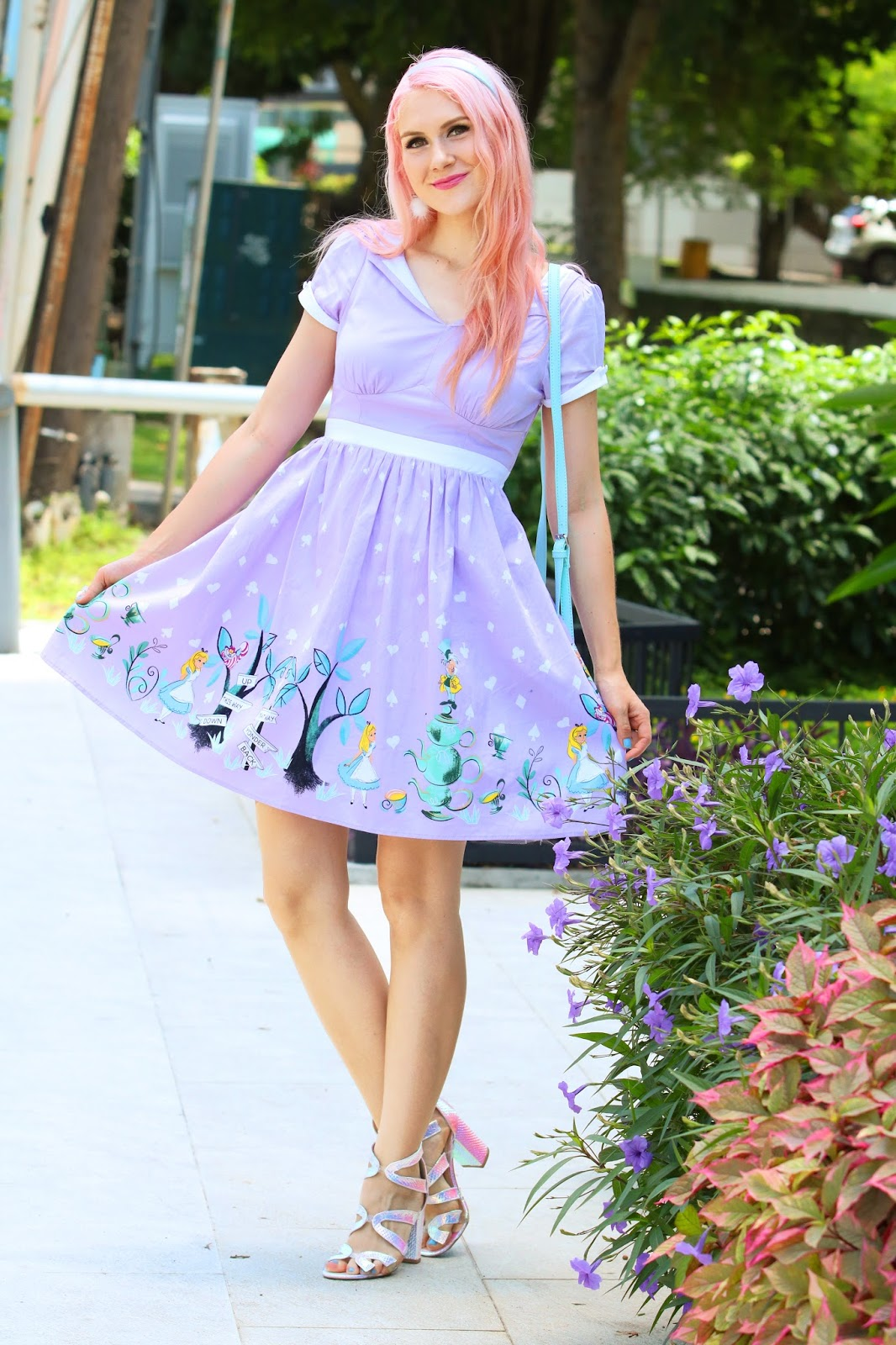 Alice in Wonderland Dress from Hot Topic