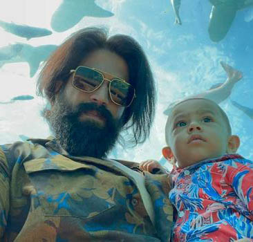 Yash And Radhika Pandit Son