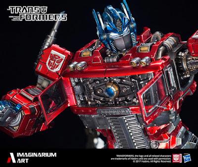 Optimus Prime nella visione della Imaginarium Art