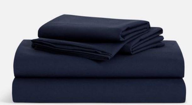 Navy sheets