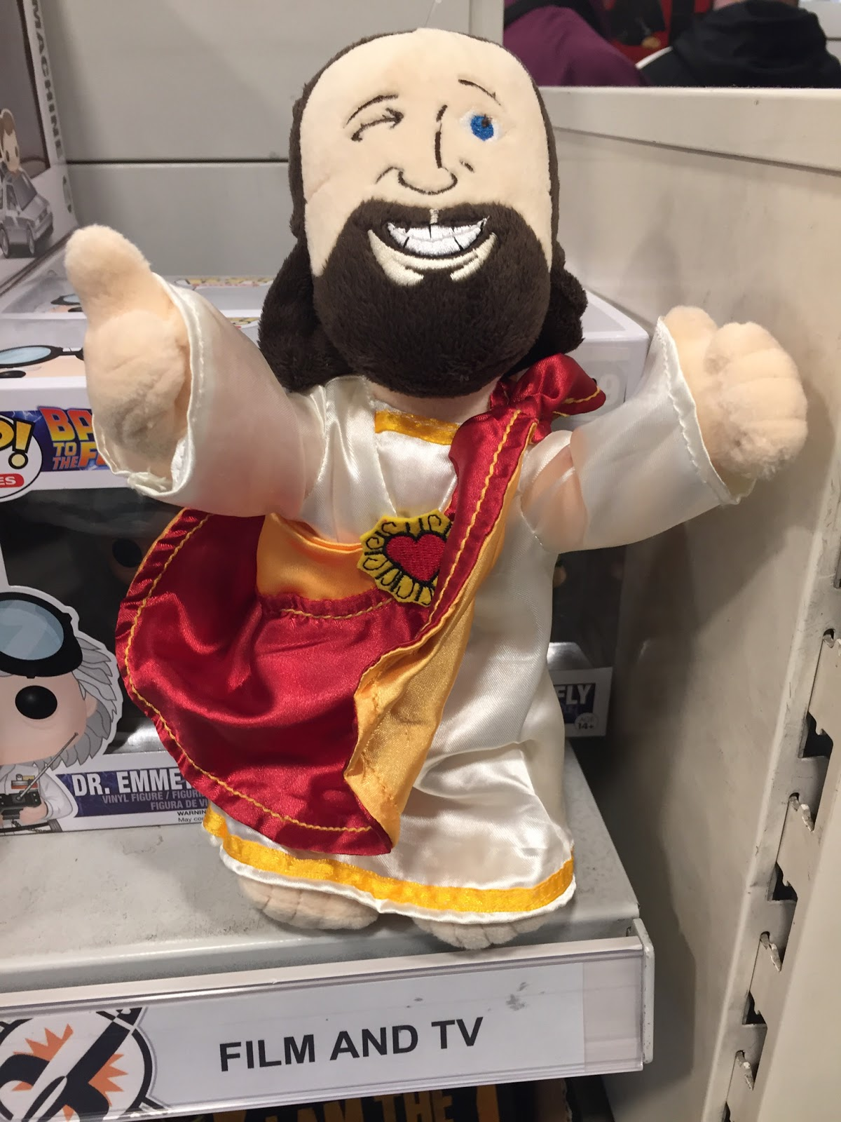 Cuddly Buddy Christ