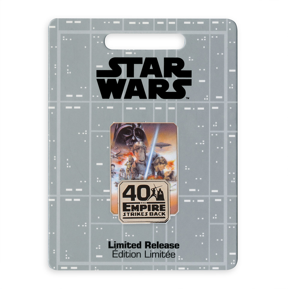 empire strikes back 40th pin badge