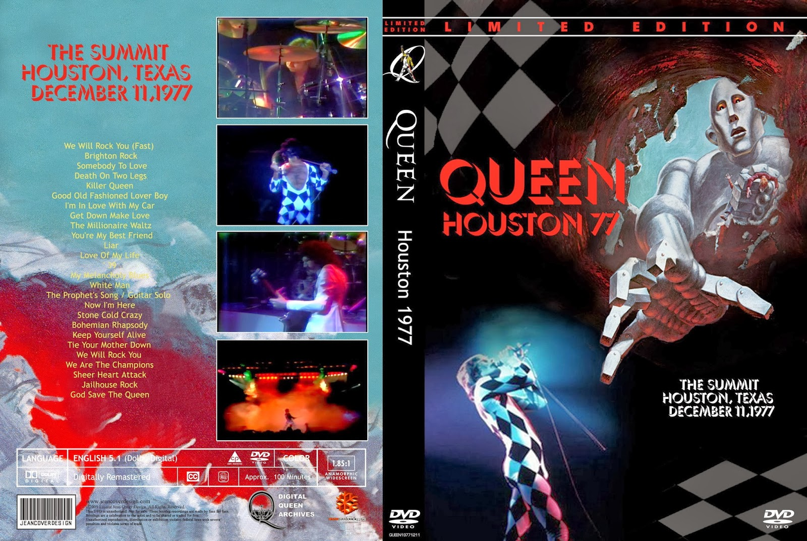 T U B E : Queen - 1977-12-11 - Houston, TX (DVDfull pro-shot)