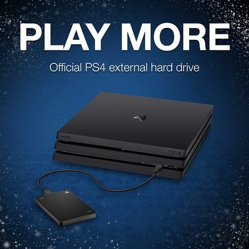 Review Seagate 2TB External Hard Drive Portable for PS4