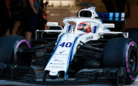 Williams Robert Kubica numer F1