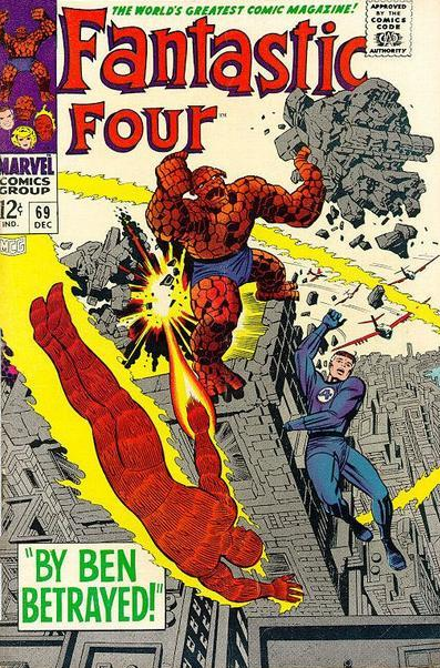 Fantastic Four 69 Lee-Kirby