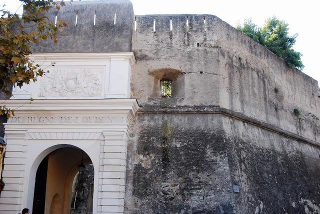 citadelle de Bastia - Porte Louis XVI