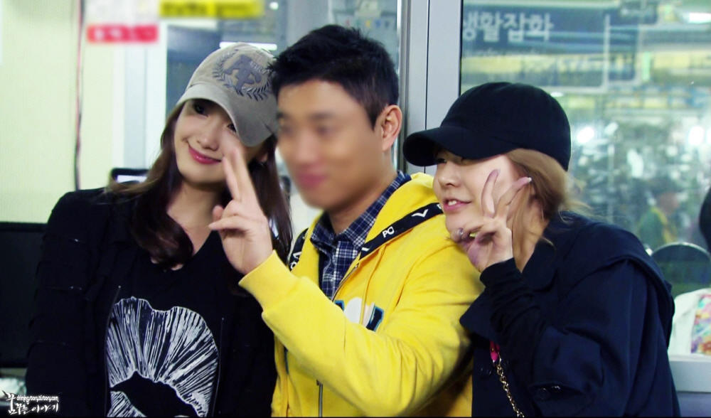 SNSD Sone ♥: SNSD Sunny and Yoona with Gary on Running Man