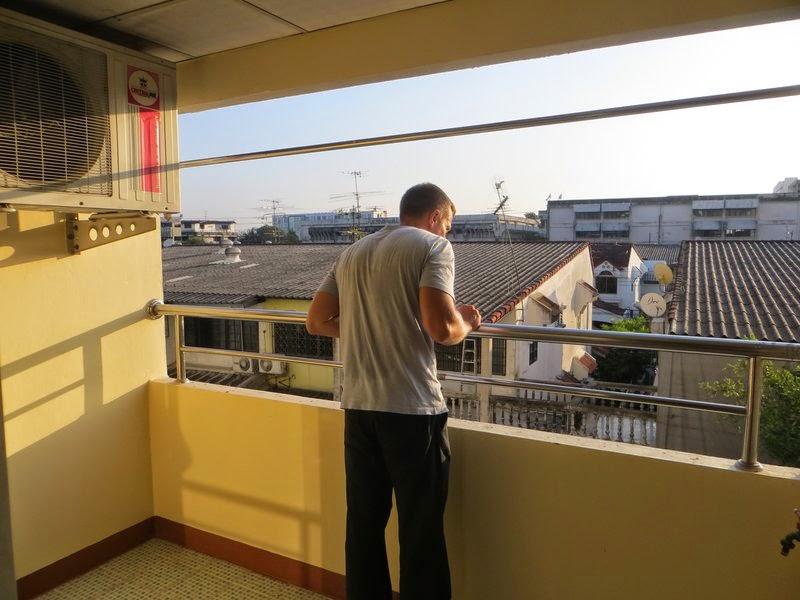 Балкон отеля