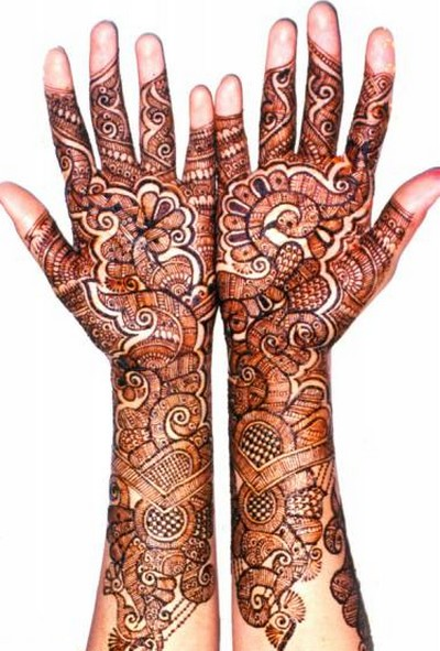 Karva Chauth Mehndi Designs For Full Hands