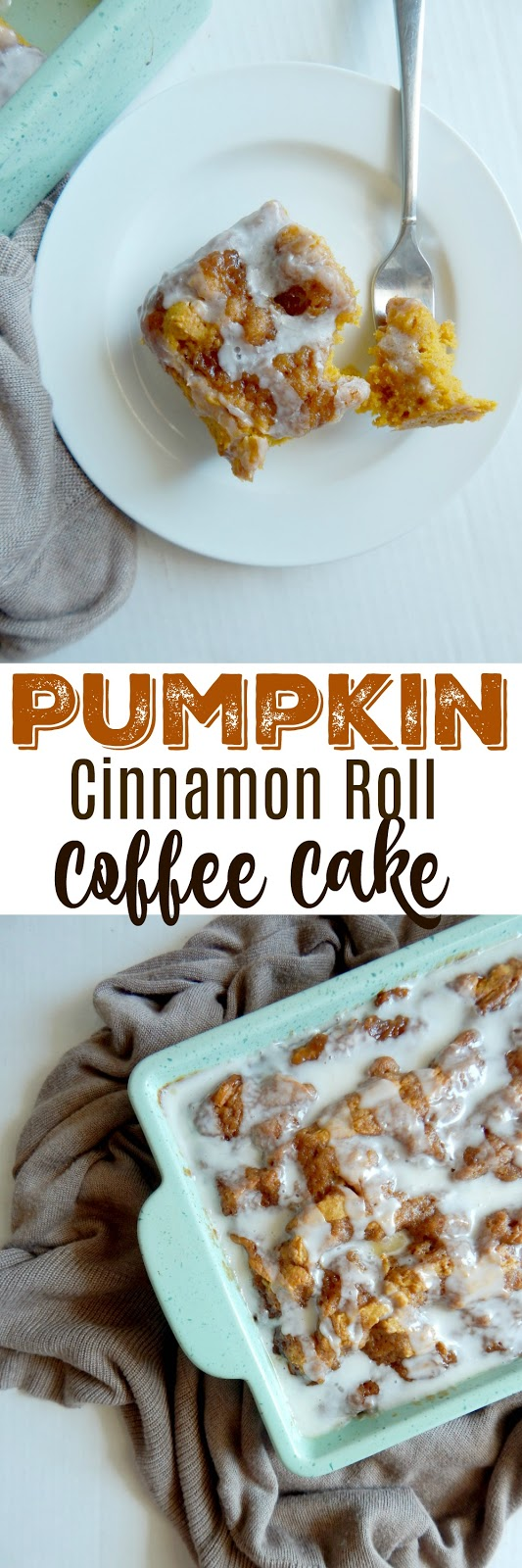 pumpkin cinnamon roll coffee cake