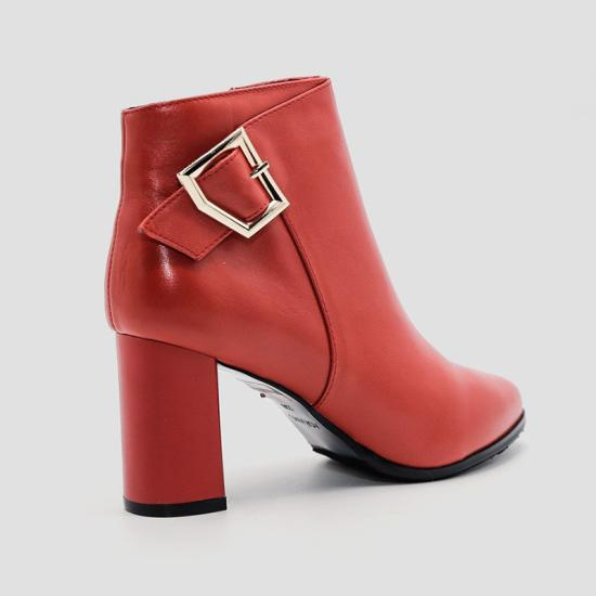 Giày boot nữ Aokang Đỏ