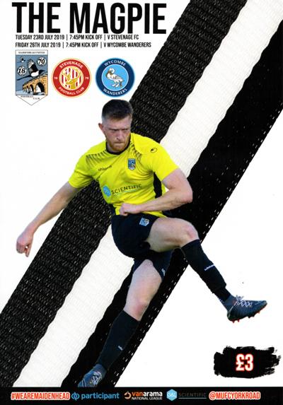 Maidenhead United 2019/20 season programme