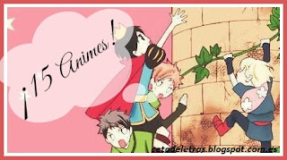 Reto 15 Animes
