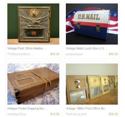 Post Office Antiques on Etsy