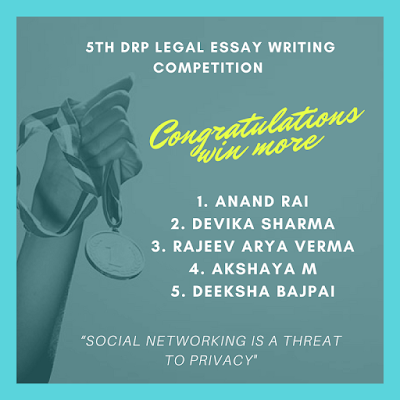 Result: 5th online essay writing competition