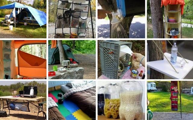 20+ Πρακτικές ιδέες για το Camping