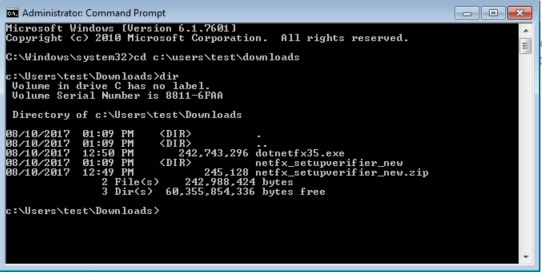 The OptionKey Blog: How to Install  NET framework 3 5 on Windows 7