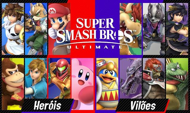 Super Smash Bros. Ultimate (Switch): Nintendo anuncia novo torneio online
