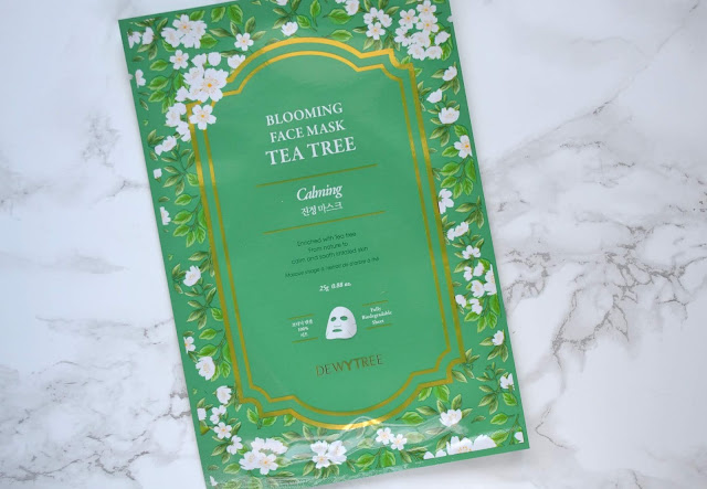 Dewytree Blooming Face Mask Tea Tree Calming
