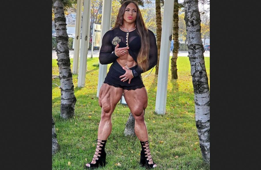 Women and Weightlifting example Nataliya Kuznetsova (Part 2)