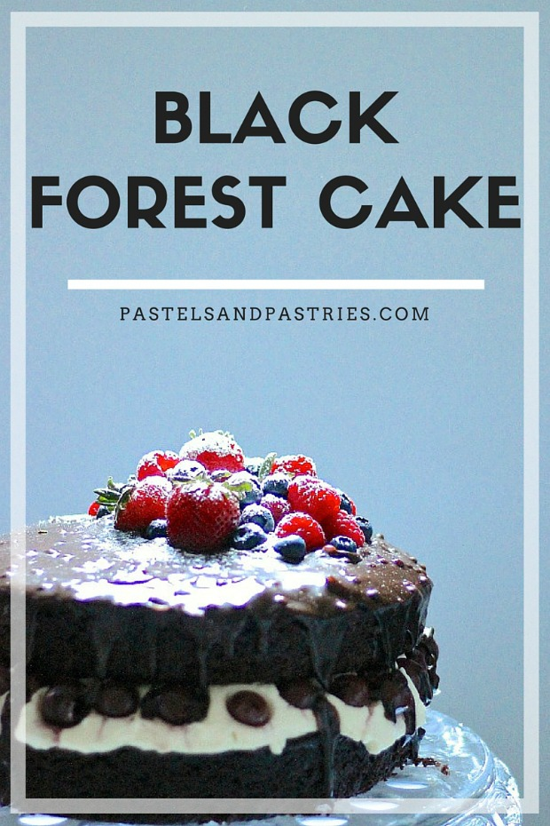 Black Forest Cake- recipe by Butter and Brioche
