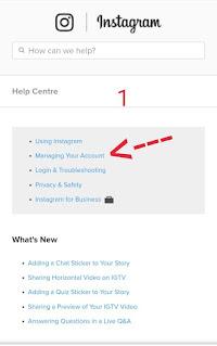 how to permanently delete instagram account