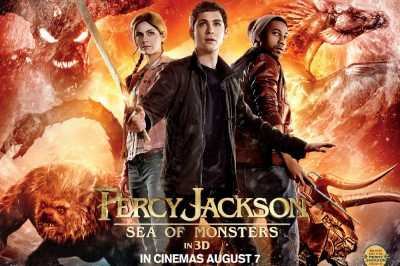 Percy Jackson Sea of Monsters 2013 Full Movie Dual Audio Hindi