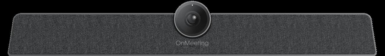 Camera trên thiết bị OnMeeting Với ống kính góc rộng và công nghệ tạo khung hình tự động, hội nghị trực tuyến trở nên đơn giản và thông minh hơn