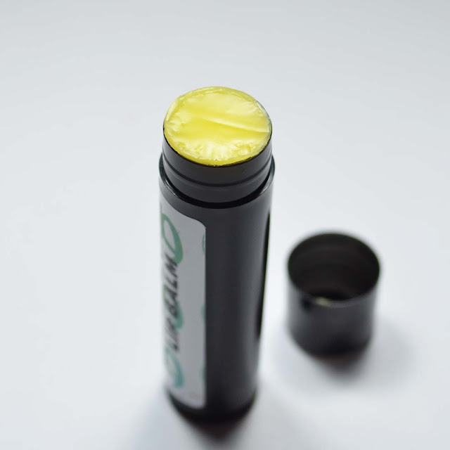 lip balm displayed in a tube